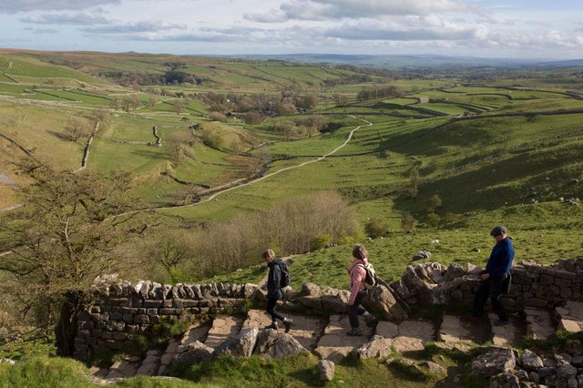 Countryside visitors are being encouraged to say hello, make memories and, where necessary, take dog poo home (Getty Images)