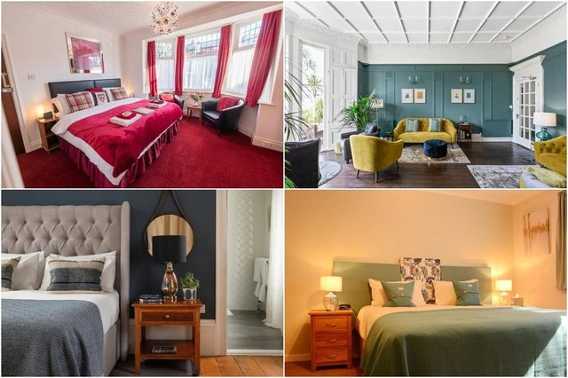 (From top left, clockwise) The Toulson Court, Scarborough; The Torcroft, Torquay; Torlinnhe Guest House, Fort William; Dorset House, Lyme Regis (Photos: Tripadvisor)