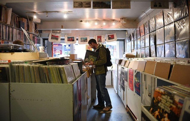 Record Store Day is back in 2021, with hundreds of shops and artists taking part to release exclusive, special and one-off records (Photo: OLI SCARFF/AFP via Getty Images)