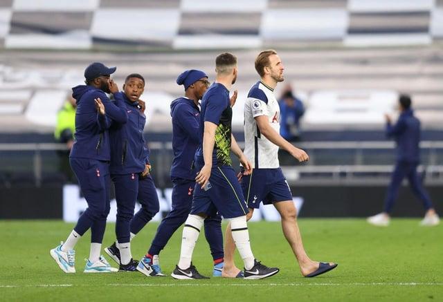 Harry Kane of Tottenham Hotspur. (Photo by Richard Heathcote/Getty Images)