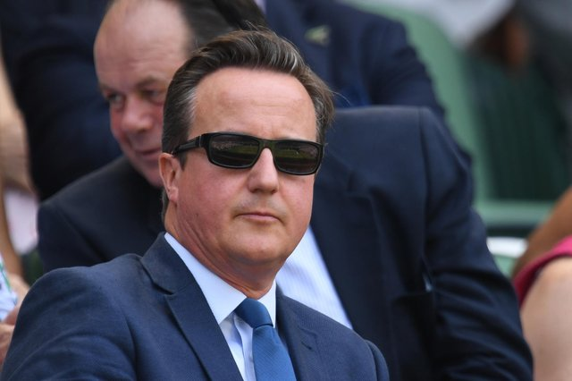 David Cameron 'thought it was right' to lobby for Greensill Capital - read his statement in full (Photo: GLYN KIRK/AFP via Getty Images)