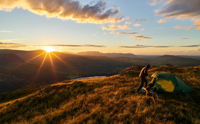 Is it time to loosen up the laws on wild camping in England? (Shutterstock)