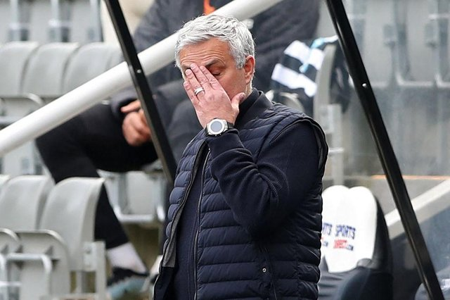 Jose Mourinho. (Photo by SCOTT HEPPELL/POOL/AFP via Getty Images)