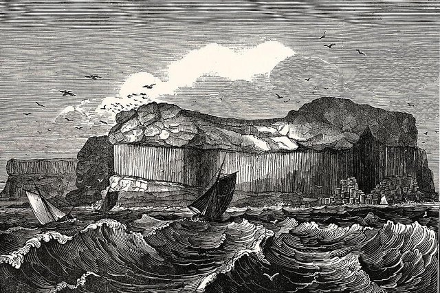 The John Murray published guide recommends visiting Fingal's Cave on the Isle of Staffa when seas are calm (Getty Images)