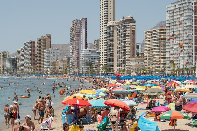 Popular tourist destinations such as Spain and Greece are unlikely to be put on the green list, according to a Telegraph report. (David Ramos/Getty)