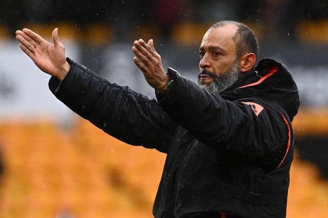 Nuno Espirito Santo left Wolves at the end of the season.