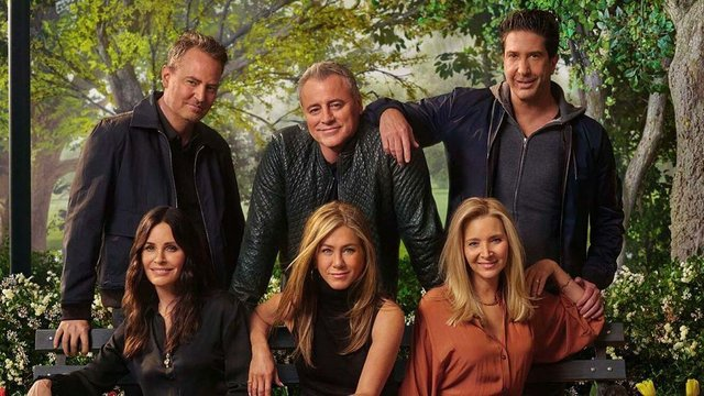 Friends: The Reunion sees the stars of the sitcom reunited for a one-off special (HBO)