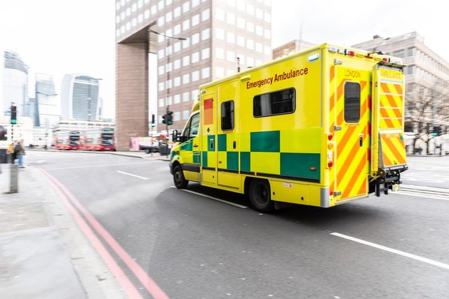 The ambulance worker had come out of retirement in January 2021.