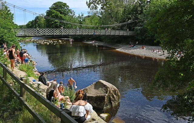 The River Wharfe is popular with tourists and locals alike during the high season - but certain areas are dangerously polluted.