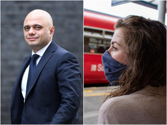 """Health Secretary Sajid Javid suggested cases """"could go as high as 100,000"""" a day in the summer as restrictions are eased (Photo: Shutterstock)"""