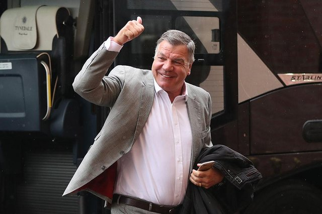 SSam Allardyce will be out of work after the final game of this season after deciding to leave West Brom.