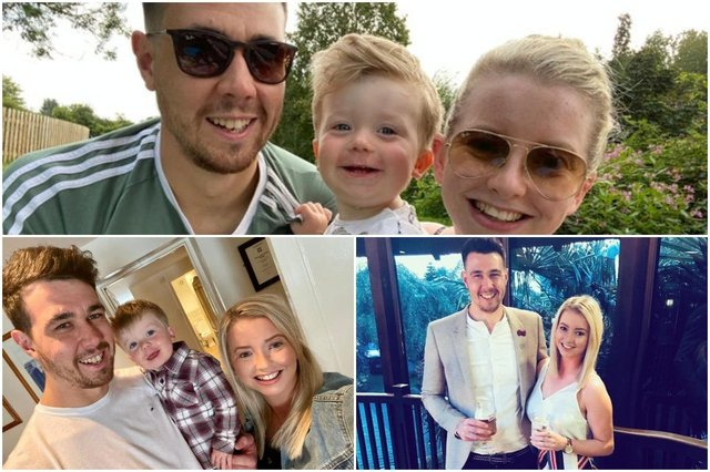 Mum's grief over sudden loss of partner, 31, leads to major fundraising and awareness campaign