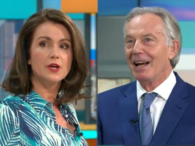 Susanna Reid confronted Tony Blair over Iraq War (ITV)