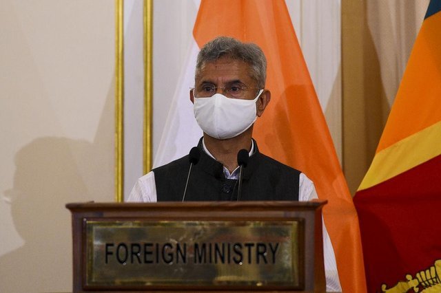 India's Foreign Minister Subrahmanyam Jaishankar will now attend the meetings virtually.