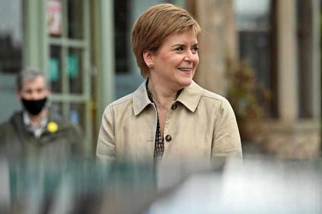 Nicola Sturgeon will not work with Alex Salmond's Alba Party (Photo by Jeff J Mitchell/Getty Images)