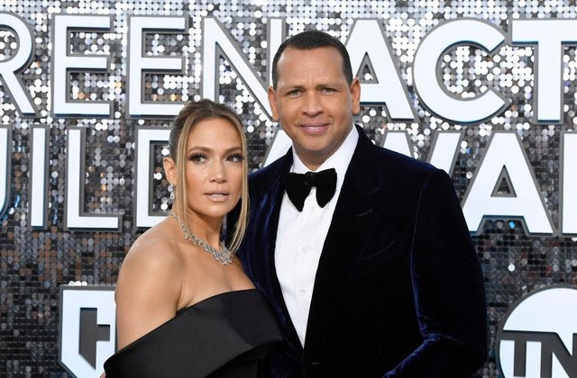JLo and Rodriguez announced their split two years after they became engaged (Photo by Frazer Harrison/Getty Images)