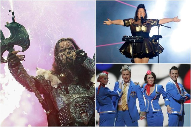 Eurovision has thrown up myriad memorable moments in recent years, here are just a small few (Photos: Getty Images)
