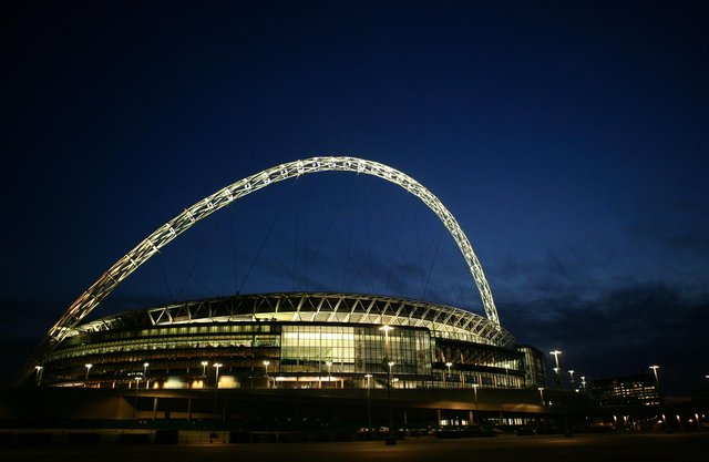 The Euro 2020 final could be played in front of a packed Wembley Stadium if England beat Denmark tonight (Photo by Paul Gilham/Getty Images)