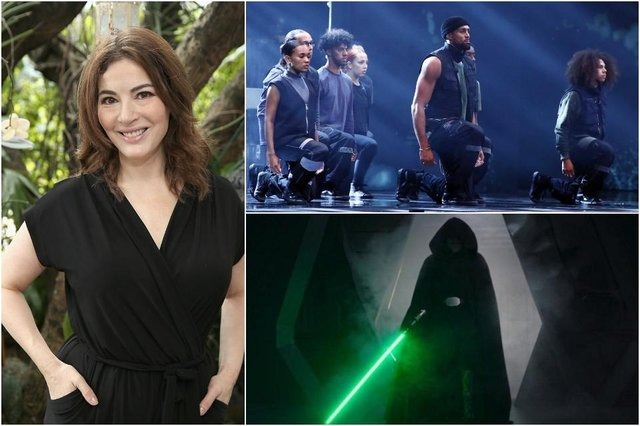 This year's nominees for Bafta's Must-See Moment Award include everything from mispronounced words to powerful dance routines (Photos: Getty Images/ITV/Disney)