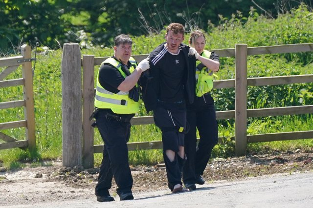 Mr Boulton is detained at Hallington House Farm, on the outskirts of Louth (Photo: PA)