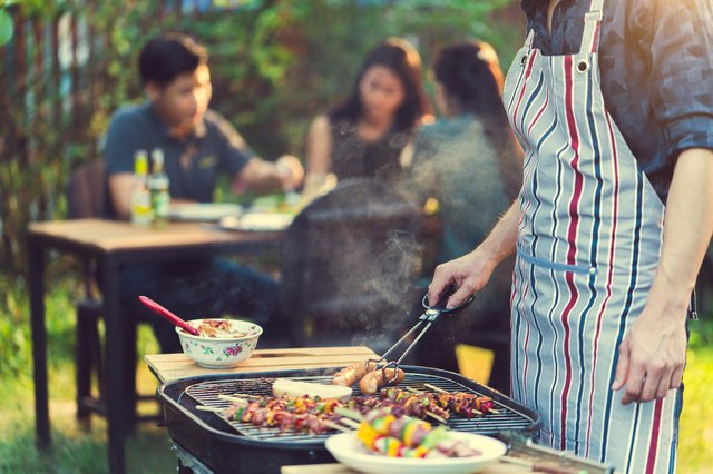 Barbecues will be popular this summer - if the British weather holds out