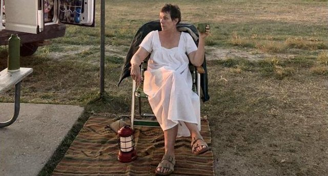 Nomadland stars Frances McDormand, and is about a woman who loses everything in the recession and lives in her van on a journey across America (Photo: Searchlight Pictures)
