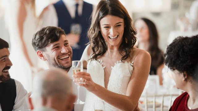 Restrictions will be lifted on 30 guests at weddings, even if the 21 June unlocking is pushed back (Shutterstock).
