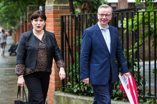 Michael Gove and Sarah Vine (Photo by Jack Taylor/Getty Images)