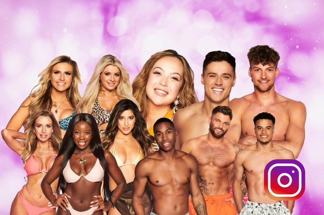 The contestants already have more than 300k followers between them (Picture: Kim Mogg/JPIMedia)