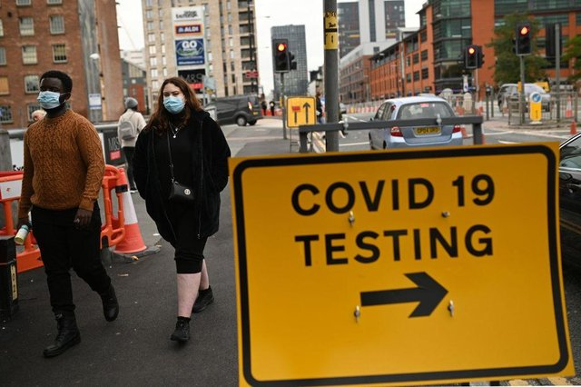 Surge testing is being carried out in several parts of England (Photo: Getty Images)