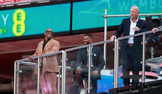 Ian Wright, Ashley Cole and Alan Shearer are among the TV pundits who have been analysing Euro 2020.