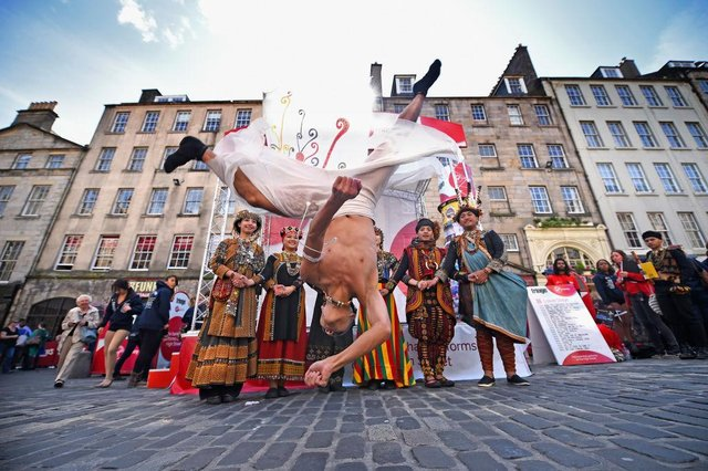 The Edinburgh Fringe is at risk according to an organiser (Getty Images)
