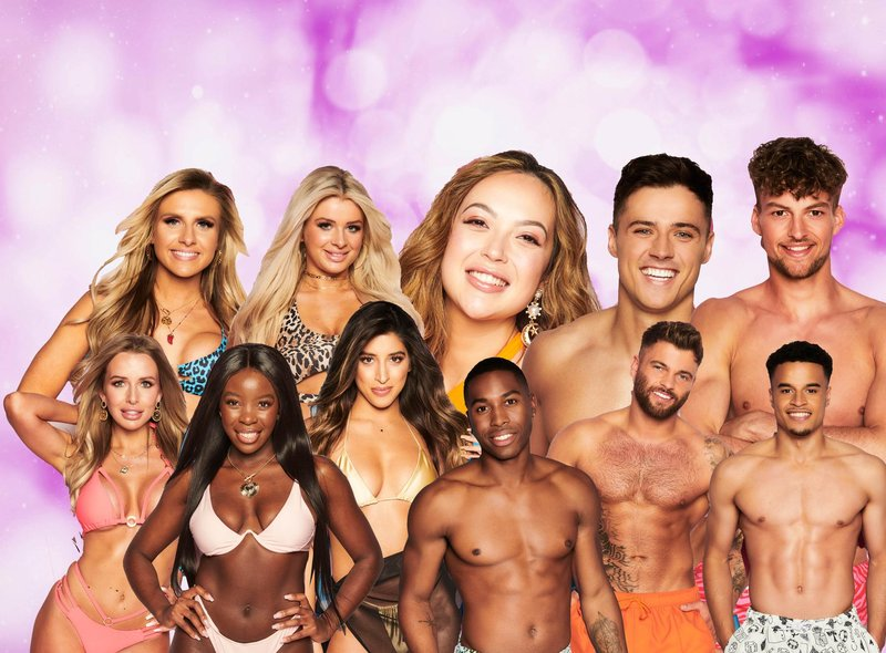 From Beauty Queens to Brick layers, ITV's seventh series of Love Island has it all (Picture: ITV/JPI Media graphics)