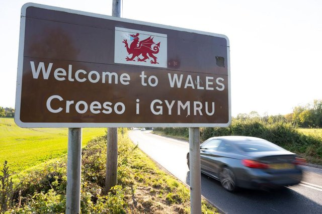 Under current road map dates Wales will be open to the rest of the UK from April 12 (Getty Images)