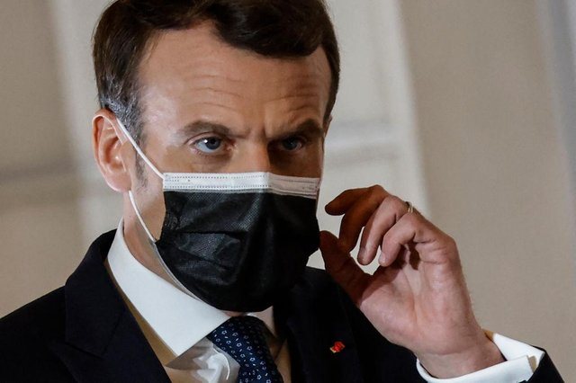 French President Emmanuel Macron announced the fresh lockdown on March 31.