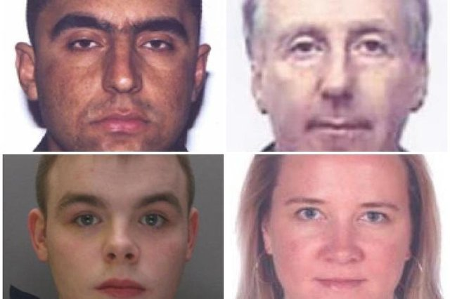 These are the 21 most wanted fugitives on the run from the National Crime Agency
