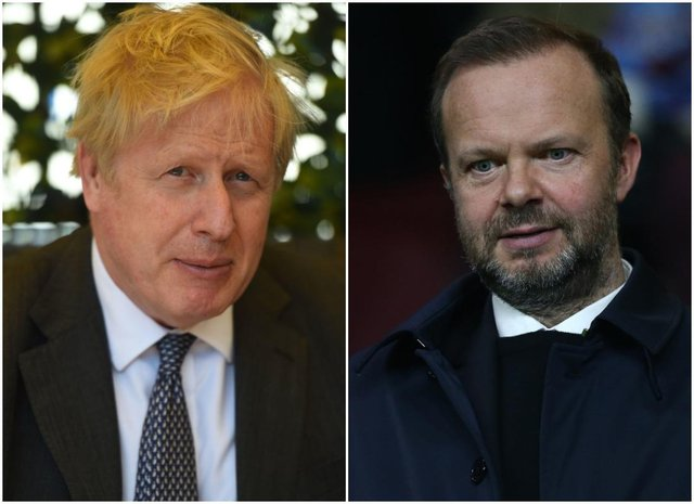 Ed Woodward was introduced to the Prime Minister following a meeting at Downing Street