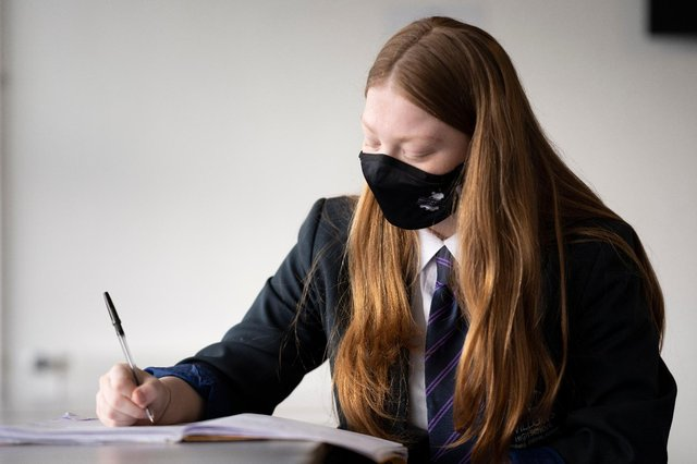 Some Year 13 students will be given the option to repeat their final year if they have been badly affected by Covid as part of the plan (Getty Images)