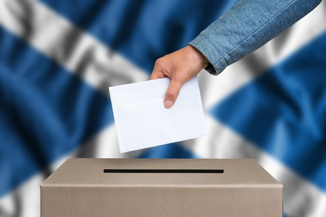 It is nearly time for Scots to head to the polls for the Scottish Parliament election 2021 (Shutterstock)