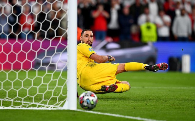 Italy stopper Gianluigi Donnarumma has been named the UEFA Player of the Tournament after the Euro 2020 final against England. (Pic: Getty)