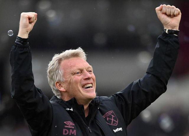 David Moyes, Manager of West Ham. (Photo by Justin Setterfield/Getty Images)