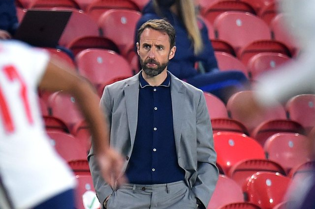 England manager Gareth Southgate has decisions to make over his squad ahead of the start of Euro 2020, after Trent Alexander-Arnold was ruled out of this summer's tournament through injury. (Pic: Getty)