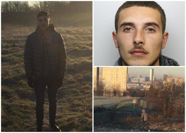 These images of Nathan Rawson were taken by the 15-year-old girl who disarmed him after he forced her to go with him into bushes at knife-point. The snaps led to the arrest and conviction of the 25-year-old sex offender (Photo: Contributed)