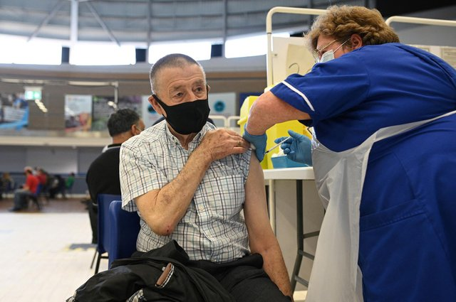 Five million people have now had their second jab (Photo: Getty Images)