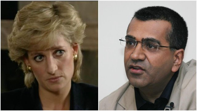 Diana's exclusive talk with Martin Bashir in 1995 was watched by more than 20 million people (Getty Images)
