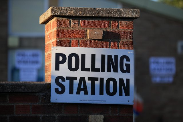 The polling stations have now opened for voters across Great Britain. (Lindsey Parnaby /AFP/Getty)