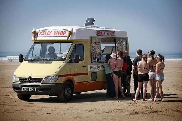 A single scoop ice cream cone costs £3.00 in Salcombe (Photo: Getty Images)