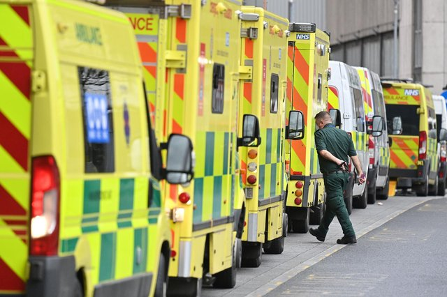 It is hoped that ambulance staff will feel safer wearing body cams, which they can turn on with the press of a button (Getty Images)