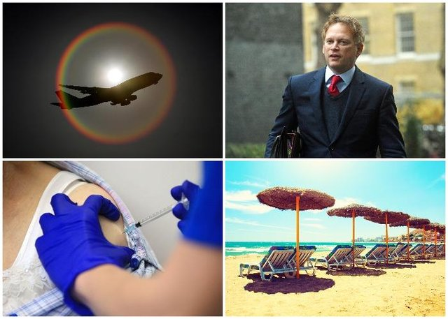 Fully-vaccinated people will be able to enjoy quarantine-free travel to amber list destinations (PA and Getty Images)