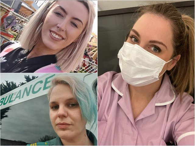 The amazing Sophie, Tracy and Anna have all given up their previous career paths for new jobs on the frontline.